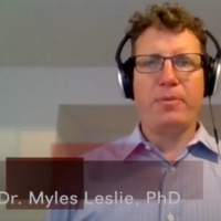 Video of Myles Leslie describing this research project