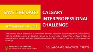 Calgary Interprofessional Challenge (CIC) 2019